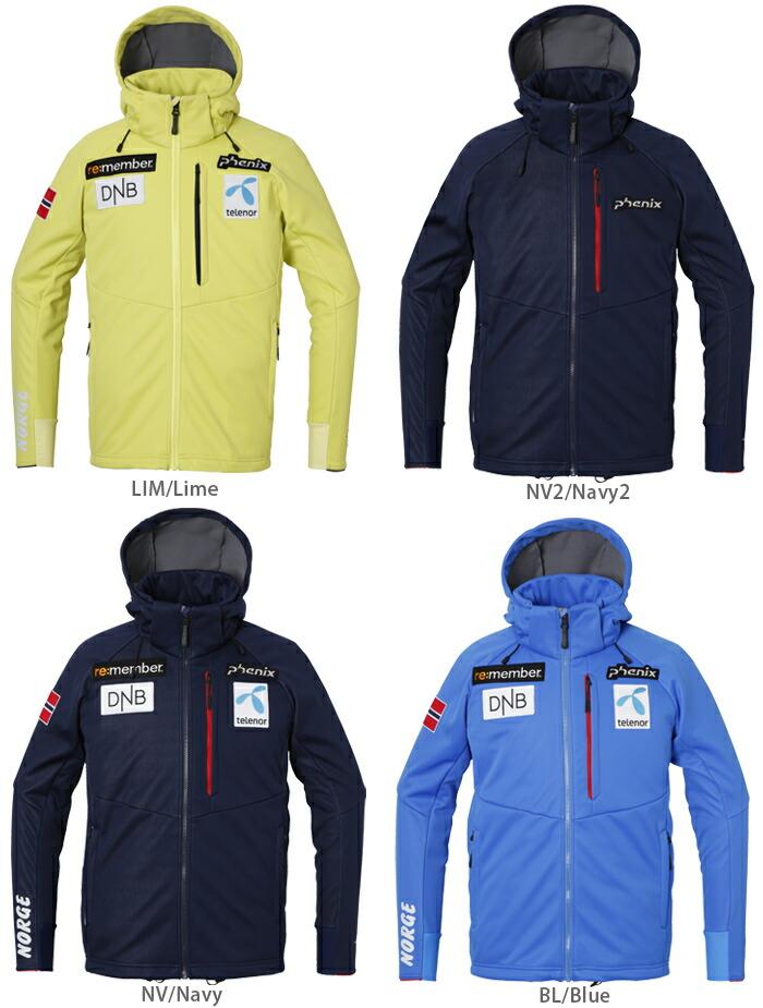 〔H〕PHENIX〔Ski Middle Layer〕<2018>Norway Team Soft Shell 9f71112d1d8eb