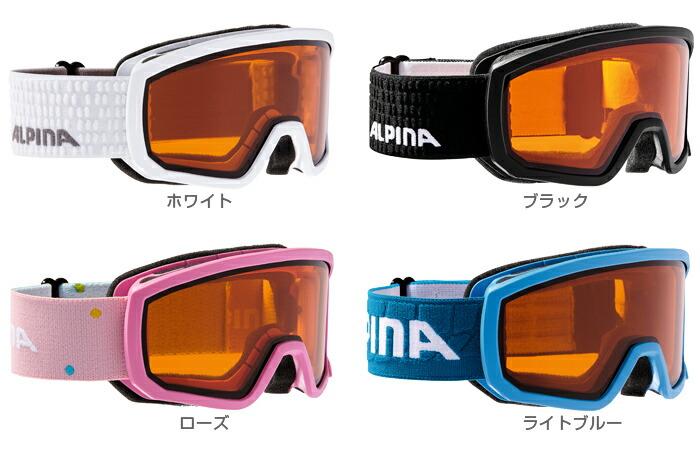 30bef52b7f0d HC〕ALPINA〔Junior Kids Ski Goggle〕<2019>SCARABEO JUNIOR DH〔JR ...