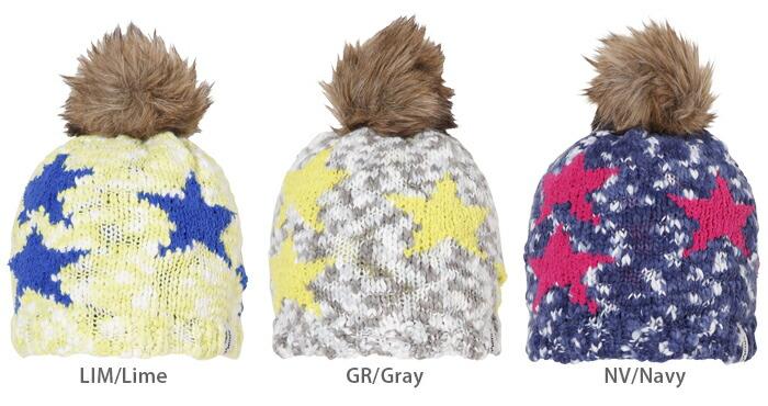 G/&S Girls Knit Helmet Lime