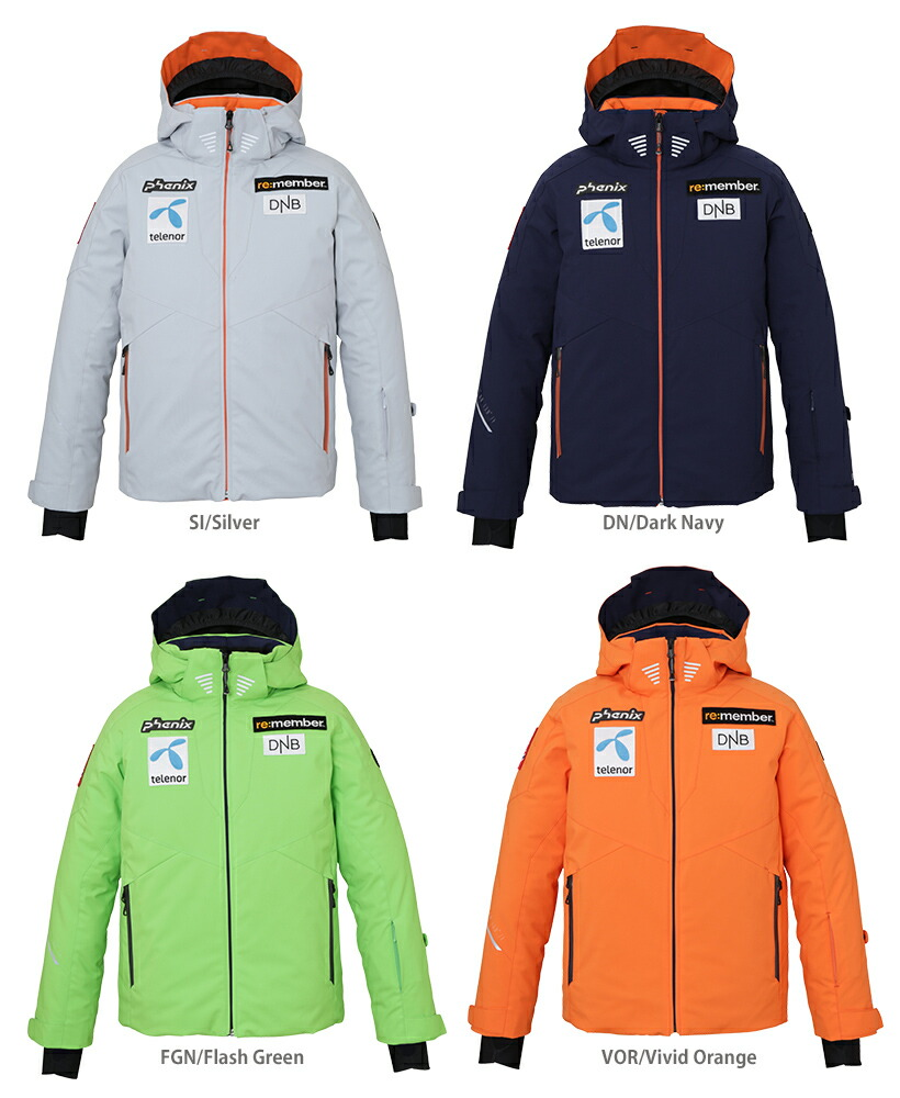 HC〕【19 20】PHENIX〔Ski Wear Junior Kids〕<2020>Norway