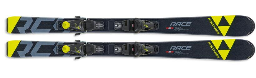 with FJ7 GW AC SLR All-Mountain Ski Fischer RC4 Race Jr