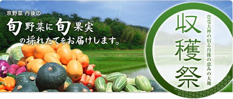 豊受大神の宿る丹後の恵みの大地 収穫祭 京野菜 丹後の 旬野菜に旬果実の採れたてをお届けします。