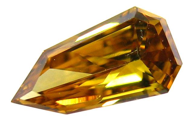 天然(ナチュラル)ファンシーオレンジダイヤモンド画像