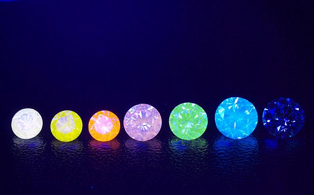 ダイヤモンド蛍光性画像