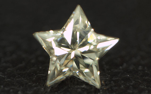星型ダイヤペンダントネックレス
