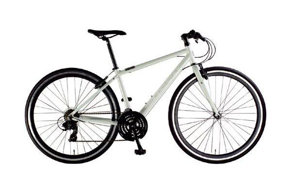 国際貿易関西 OSSO 700C アルミフレーム クロスバイク 3×7 Speed V330-AL-460-WH 【送料無料】(北海道・沖縄・離島除く) OSSO 700C アルミフレーム クロスバイク 3×7 Speed (V330AL460WH)