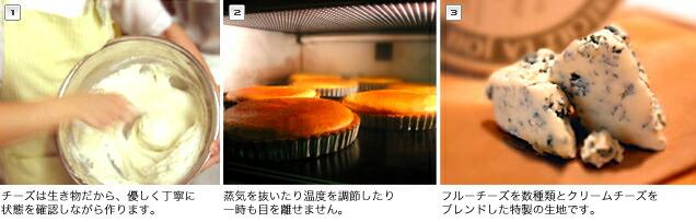 ブルーチーズタルトの作り方