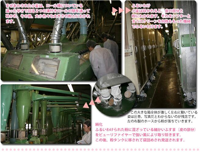 長野県産小麦粉しゅんようの工場見学