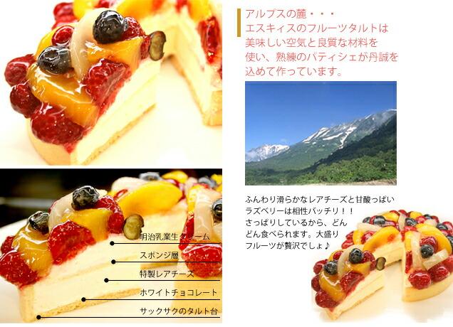 フルーツケーキの構造