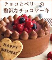 チョコレートケーキ with Crimsonberry