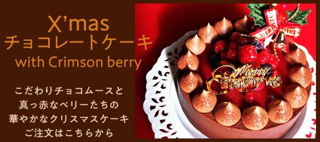 2019年クリスマスケーキ チョコレートケーキ