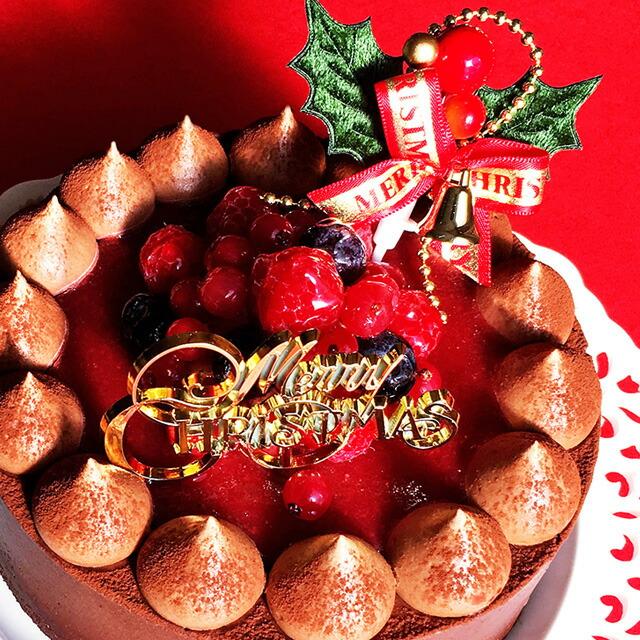 チョコレートケーキ with Crimson berry