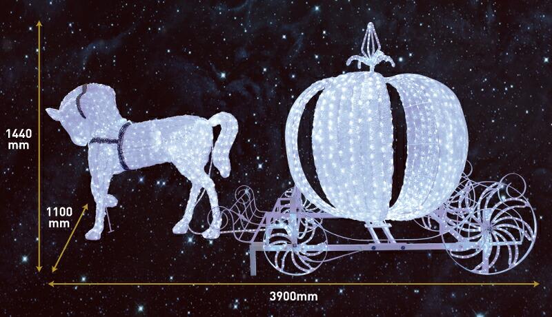 LED馬車(小)