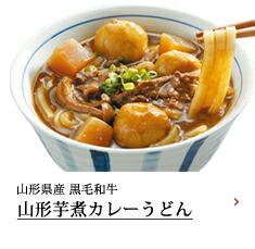 山形芋煮カレーうどん