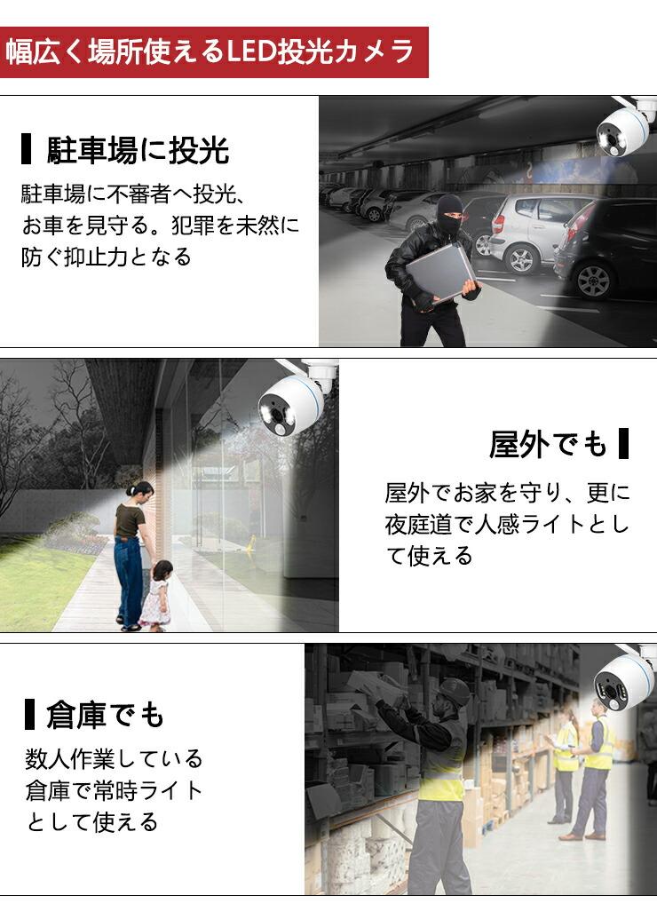 監視カメラ・録画機セット