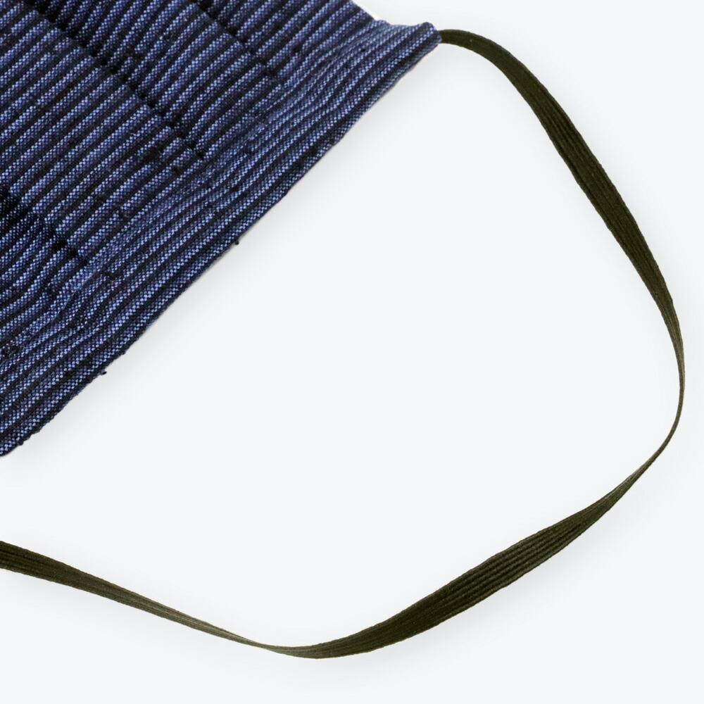 久留米織の生地を使ったお洒落な当店オリジナルの布マスク