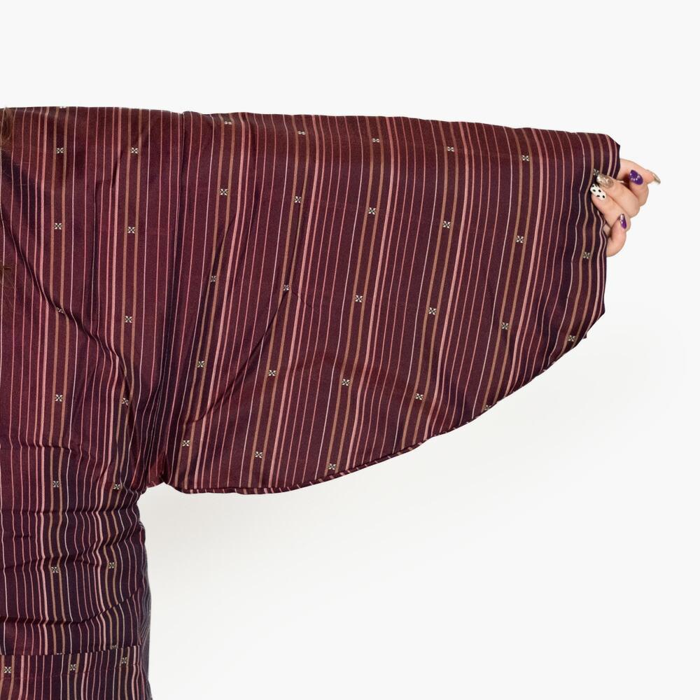 久留米織のかわいい日本製手作りレディースはんてん