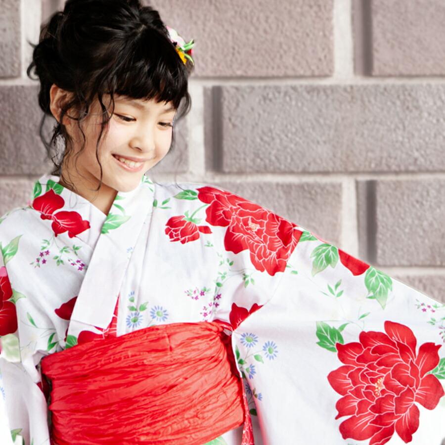 特別な時間に華を添えるジュニア浴衣
