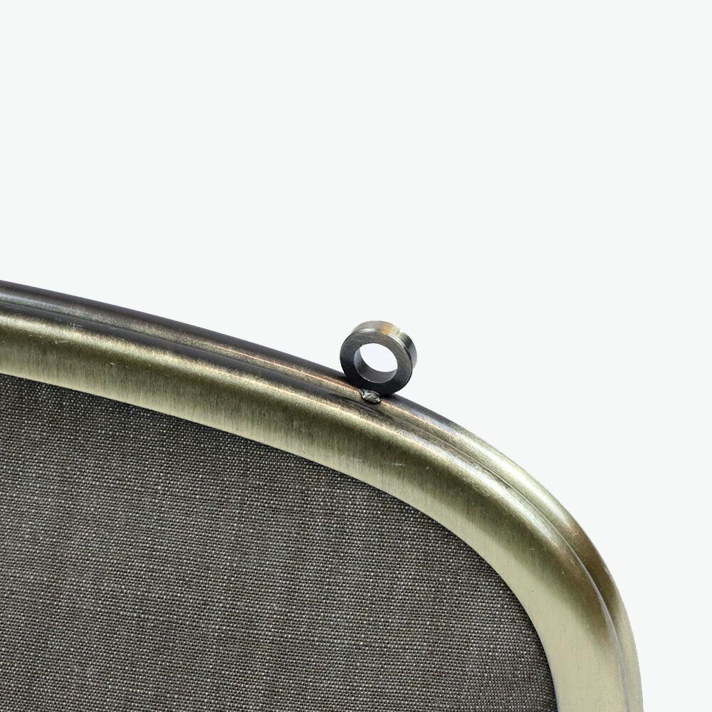 岡山デニム6.8寸の可愛いがま口