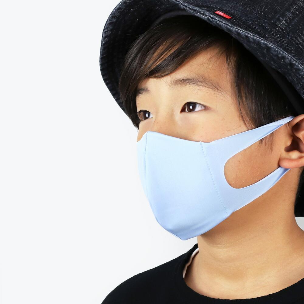 日本製の洗える子供用の潤いマスク