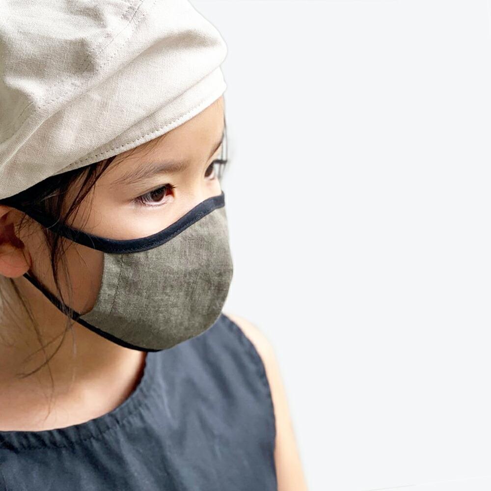お子様のお出かけ用にお洒落な日本製デニムマスク