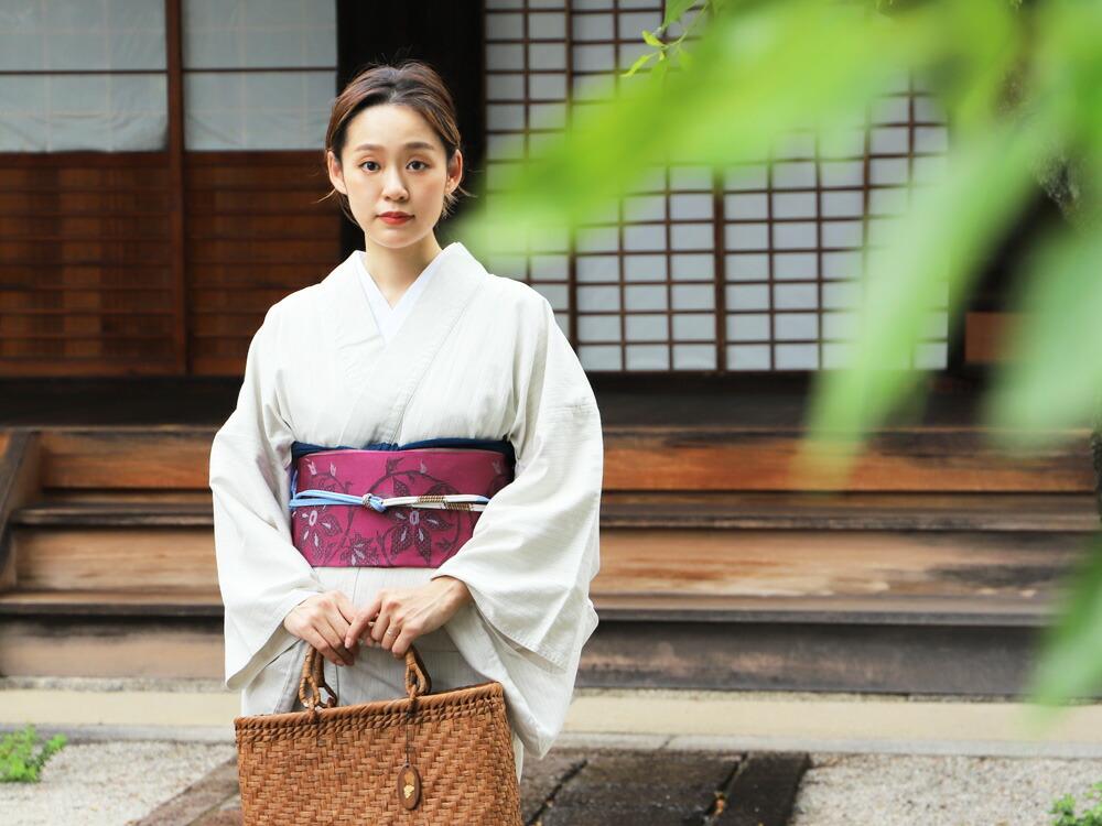 日本製のオリジナルデニム着物。