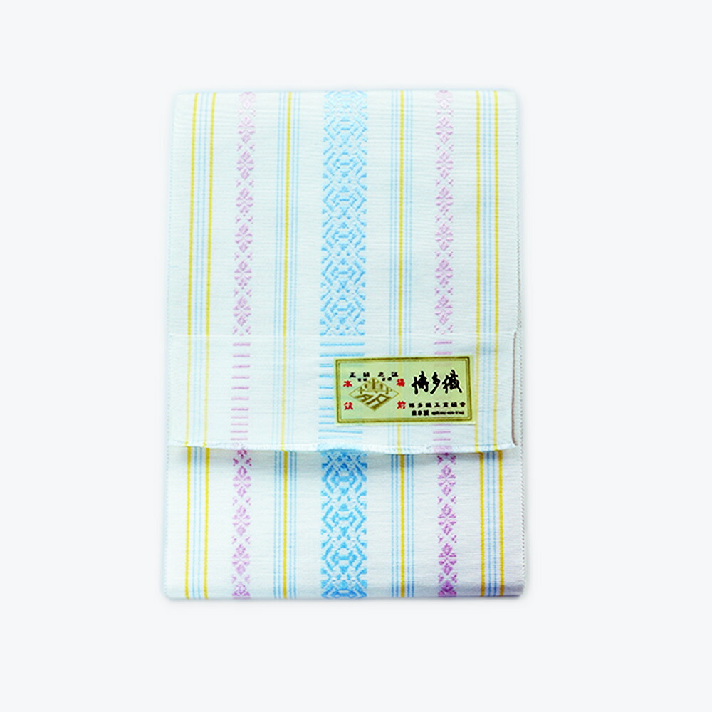 絹100%の上質な博多織半幅帯