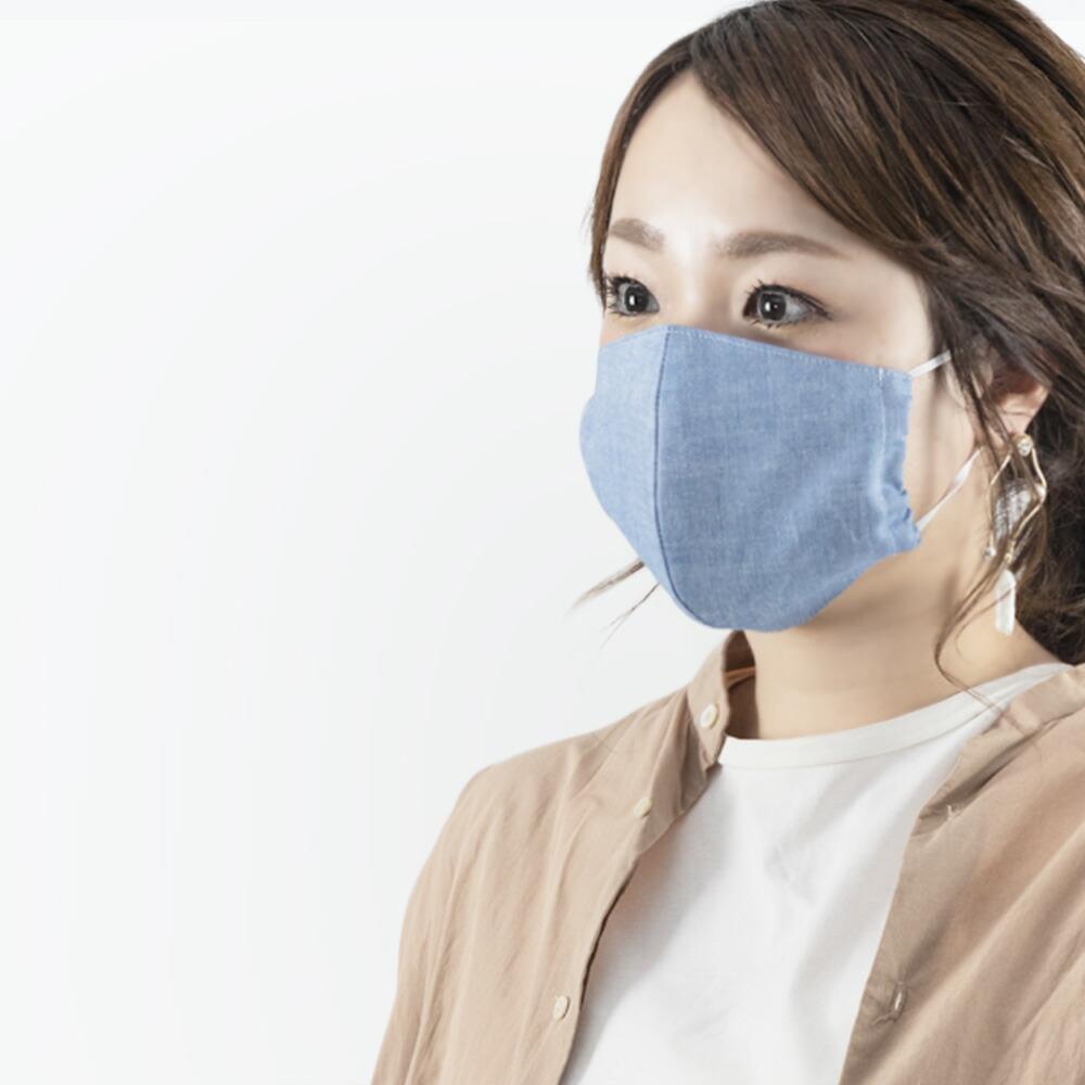 日本製の洗える布マスク