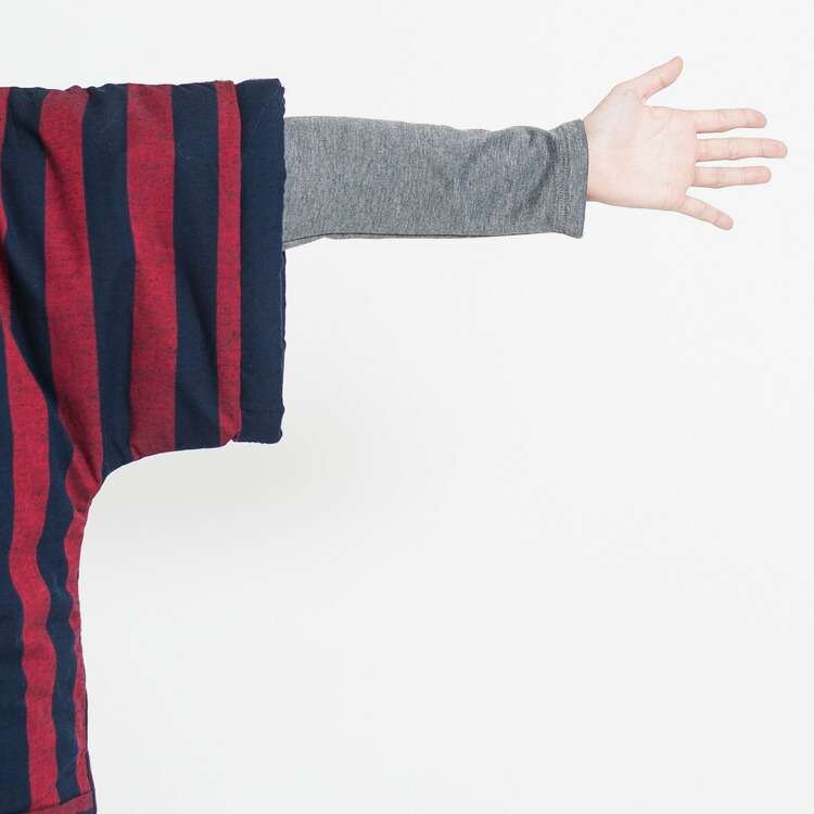 綿100%のおしゃれな袖なしやっこはんてん