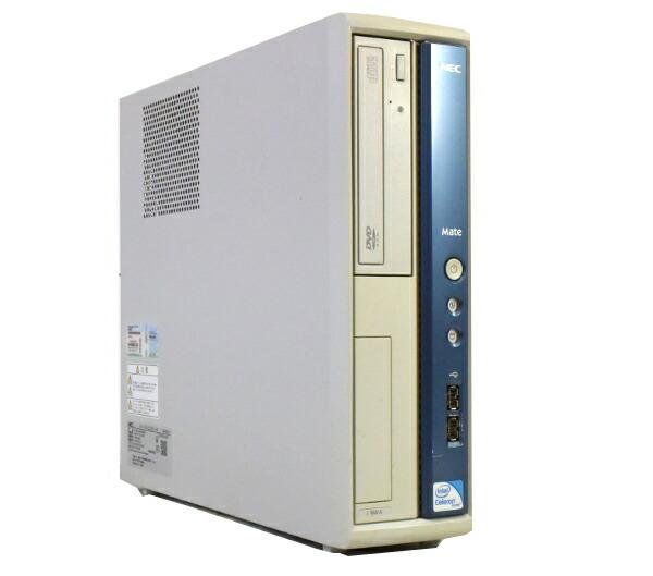 NEC MJ18X/A-A Celeron430-1.8GHz/1GB/160GB/DVD-ROM/Win7Pro 【中古】【20150529】