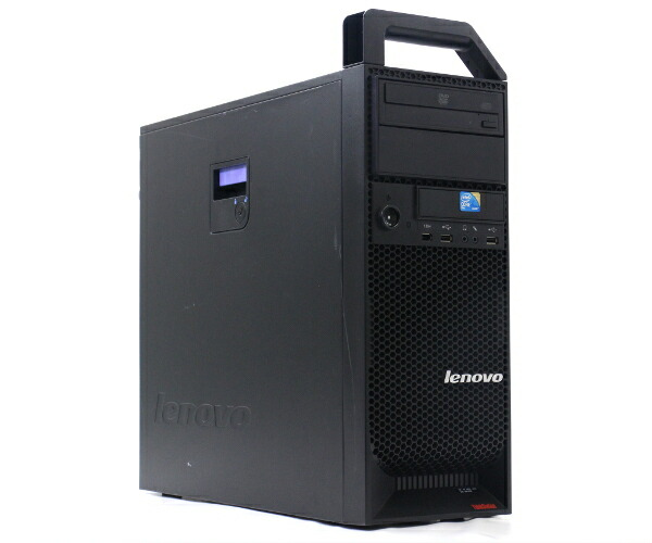 Lenovo ThinkStation S10 Core2Duo E8400 3GHz 8GB 250GB QuadroFX1700 DVD-ROM VistaBusiness64bit