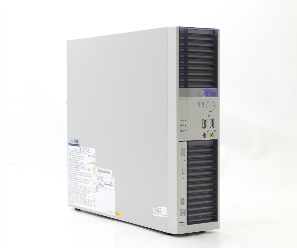 NEC FC-P32W FC-P32W-112CN9 Xeon E3-1225v3 3.2GHz 4GB 500GBx2台(ミラーリング) RGB/DP DVD+-RW
