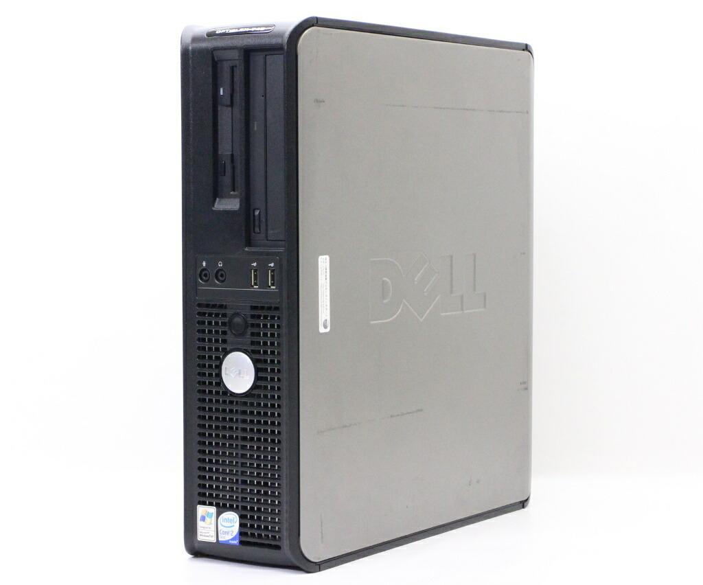 DELL OptiPlex 745 Core2Duo E6400 2.13GHz 2GB 80GB CD-ROM WindowsXP Pro 32bit 少々難有