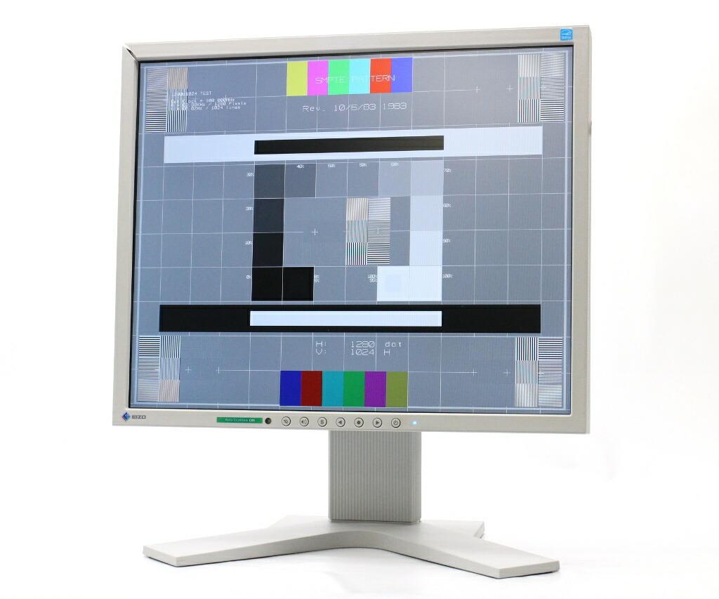 EIZO FlexScan S1721 17インチ 非光沢 スクエア SXGA 1280x1024 DVI-D/アナログRGB 9691h 難有