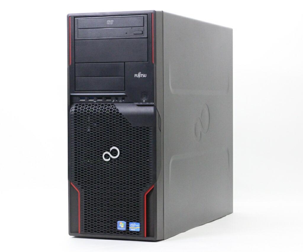 富士通 CELSIUS W520 Xeon E3-1225v2 3.2GHz 4GB 250GB Quadro600 DVD-ROM Windows10 Pro 64bit