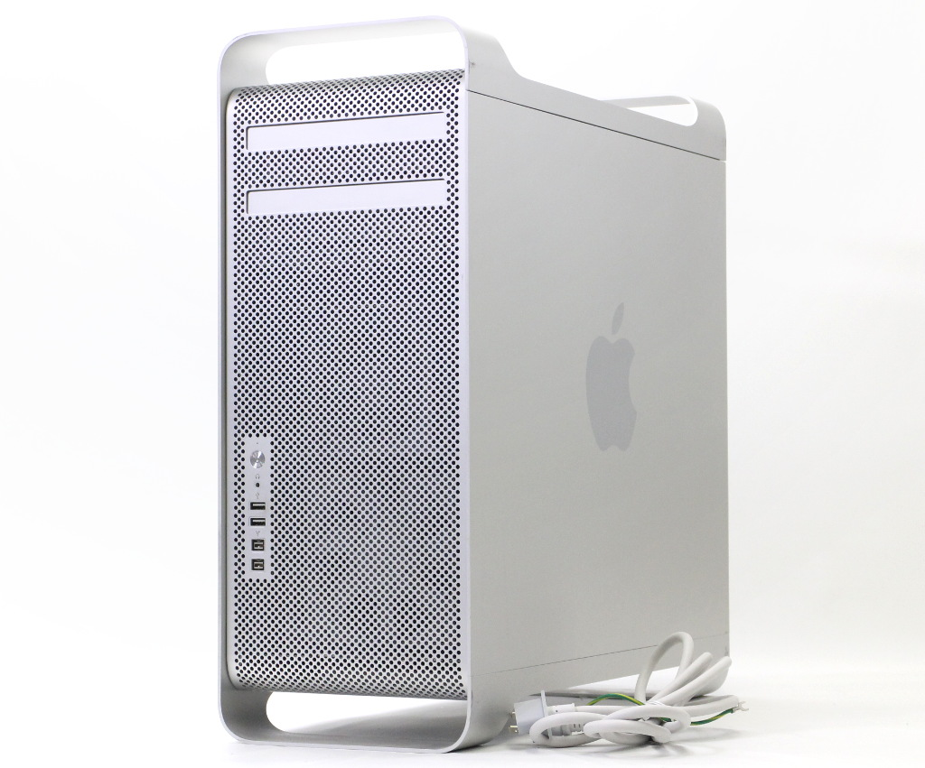 Apple Mac Pro 8コア Xeon 2.26GHz*2 16GB 640GB GT120 OSX 10.9.5 Early 2009