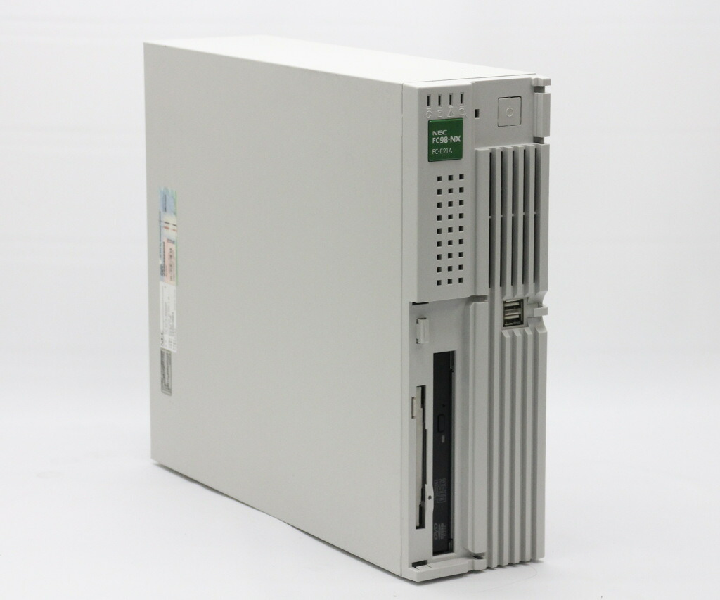 NEC FC98-NX FC-E21A Core2Duo T7400 2.16GHz 1GB 320GBx2台 DVD-ROM WindowsXP Pro 32bit 小難あり