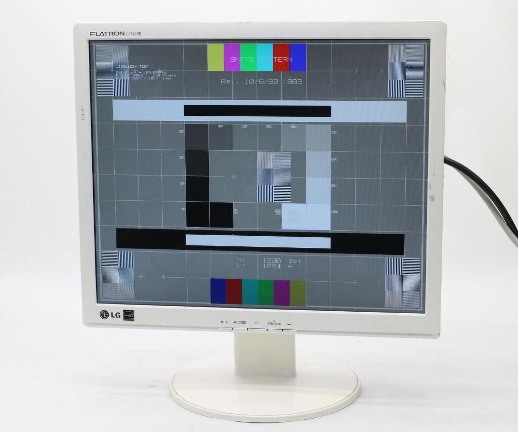 LG L1742SE 17インチ スクエア 非光沢パネル SXGA 1280x1024ドット アナログRGB入力専用