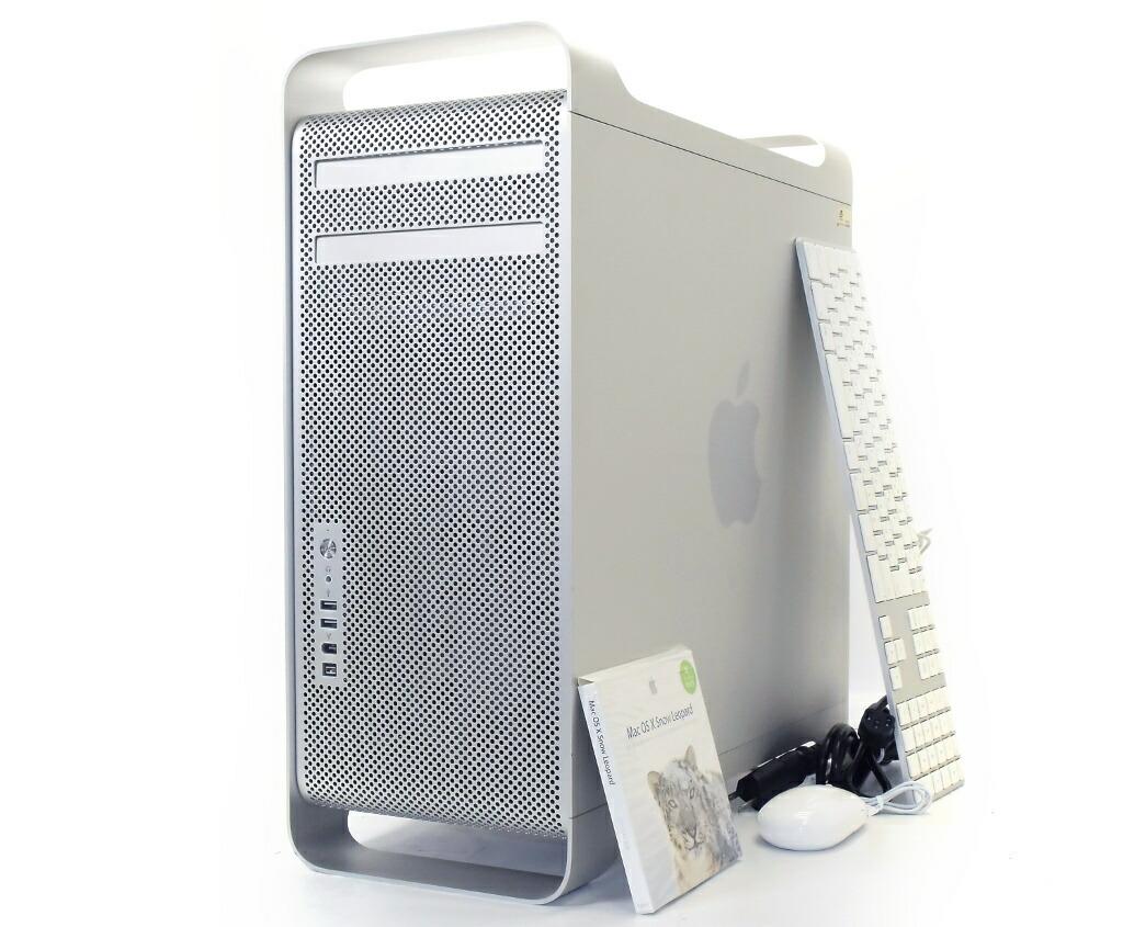 Apple Mac Pro 2006 DualCoreXeon 2GHz*2 8GB 250GB(HDD) GeForce 7300GT DVD-RW OSX 10.6.3 A1186