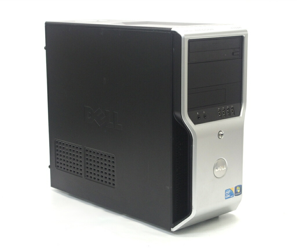 DELL Precision T1500 Core i5-750 2.66GHz 4GB 320GB FirePro V3750 DVD-ROM Windows7 Pro 64bit