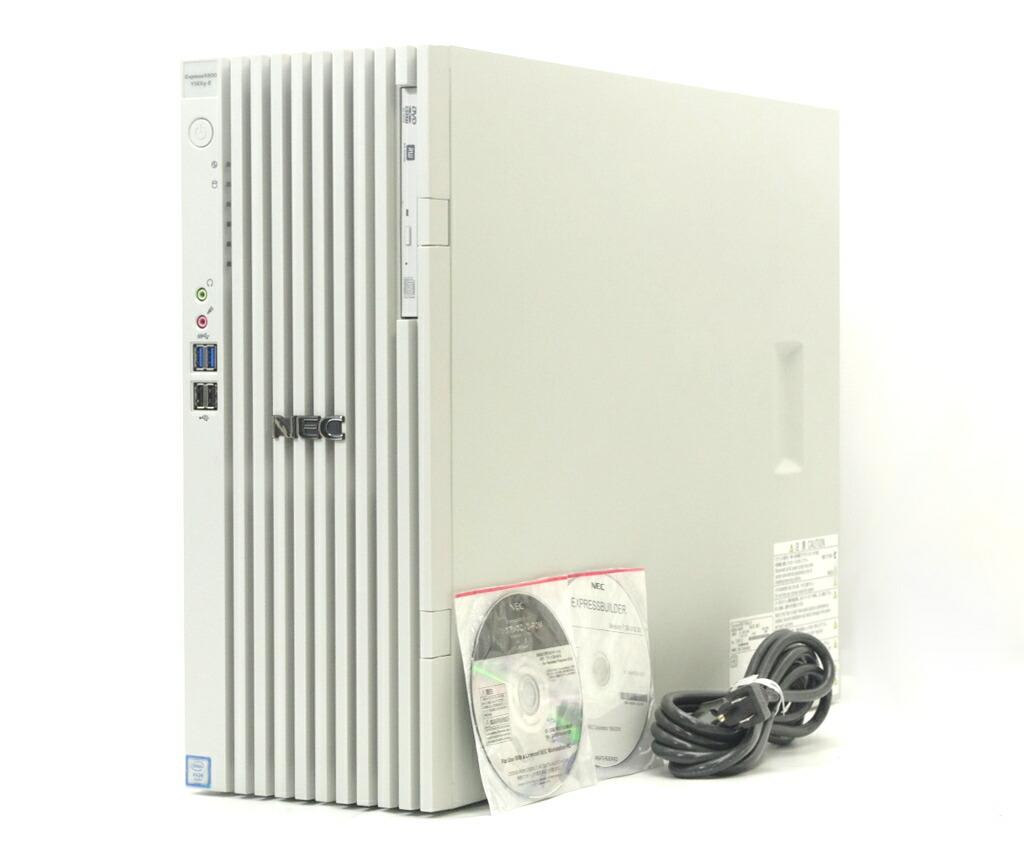 NEC Express5800/Y56Xg-E Xeon E5-1630 v3 3.7GHz 8GB 500GBx2台 M2000 DVD+-RW Windows10 Pro 64bit