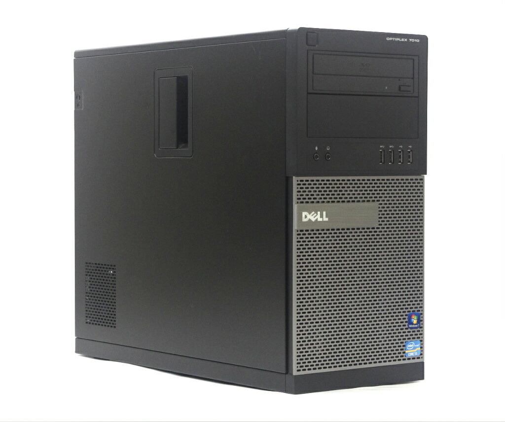 DELL Optiplex 7010 MT Core i5-3470 3.2GHz 4GB 500GB DisplayPort DVD-ROM Windows7 Pro 64bit