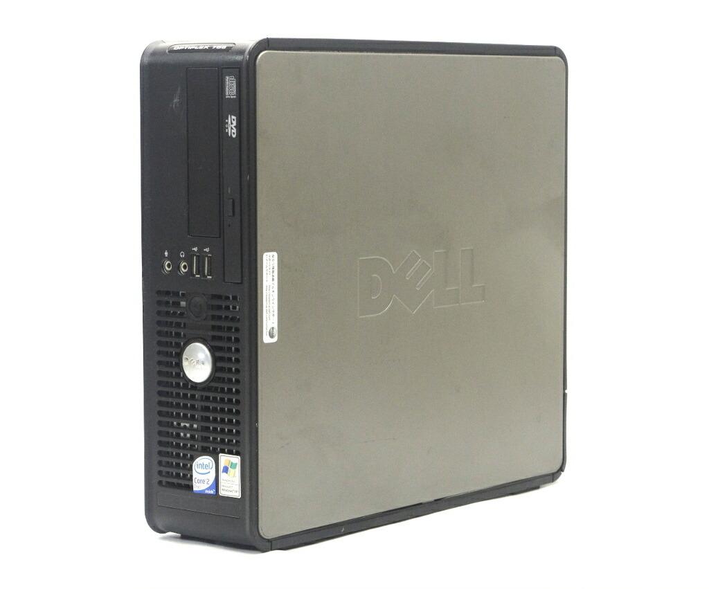 DELL Optiplex 755 SFF Core2Duo E6550 2.33GHz 2GB 80GB(HDD) DVDコンボ Windows XP Pro 32bit