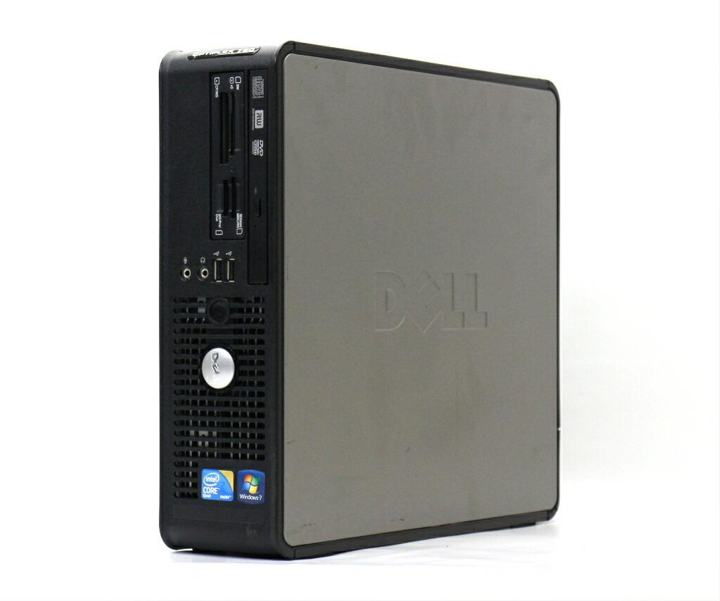 DELL OptiPlex 780 SFF Core2Quad Q8400 2.66GHz 4GB 500GB(HDD) DisplayPort WindowsXP Pro 32bit
