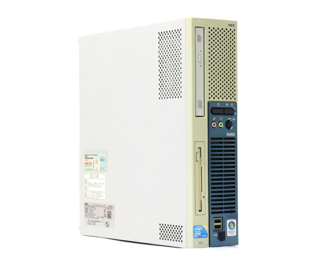 NEC MY30A/E-7 Core2Duo E8400 3GHz 2GB 80GB(HDD) アナログRGB出力 DVD-ROM WindowsXP Pro 32bit