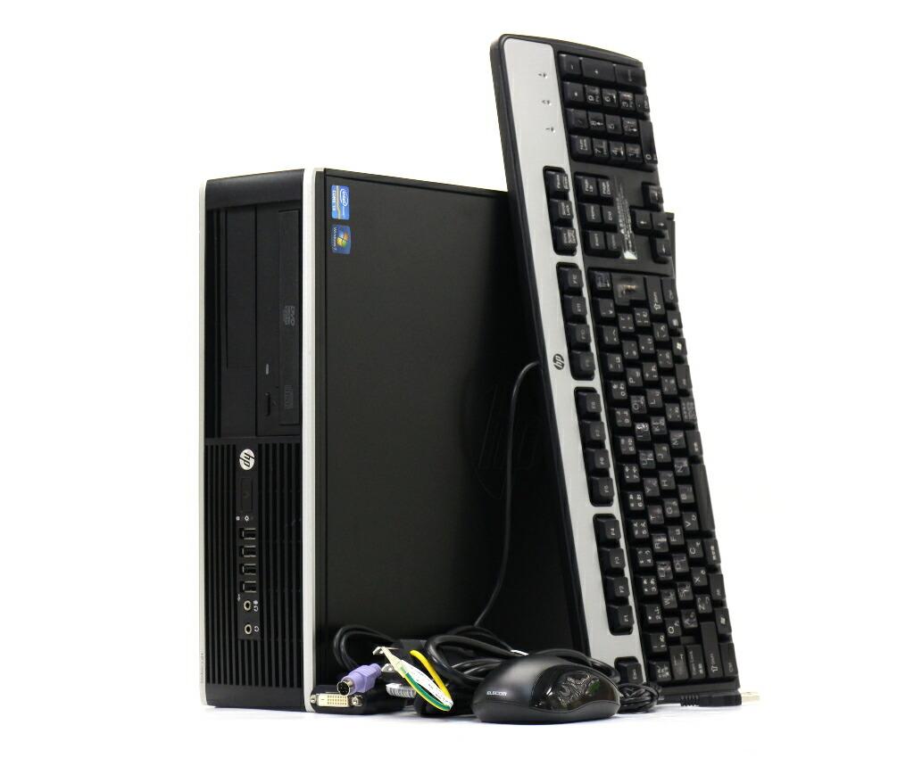 hp Compaq Pro 6300 SFF Core i3-2120 3.3GHz 4GB 250GB(HDD) DisplayPort Windows7 Pro 64bit