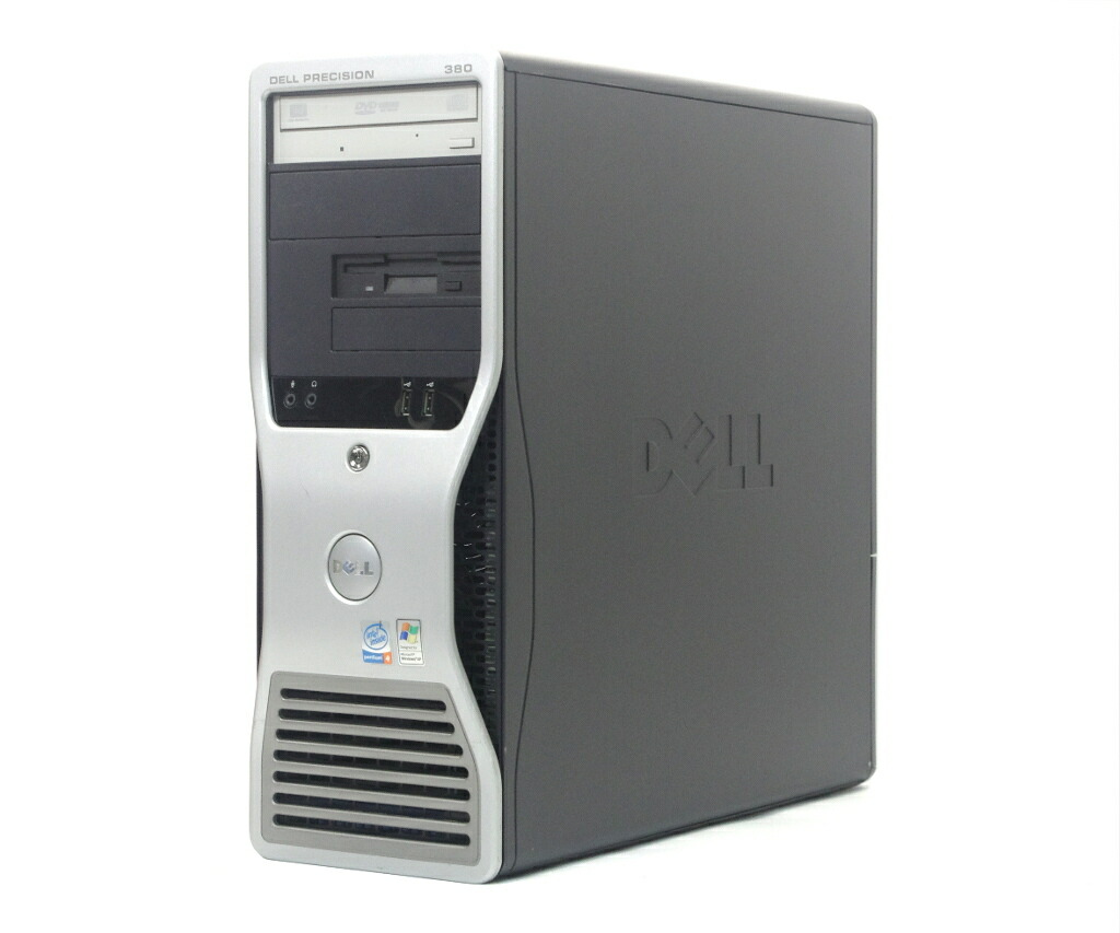 DELL Precision Workstation 380 Pentium 4 670 3.8GHz 2GB 80GB(HDD) FX1400 WindowsXP Pro 32bit
