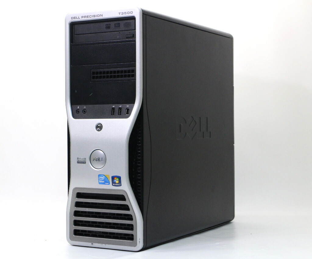 DELL Precision Workstation T3500 Xeon W3550 3.06GHz 12GB 250GB Quadro 2000 Windows7 Pro 64bit