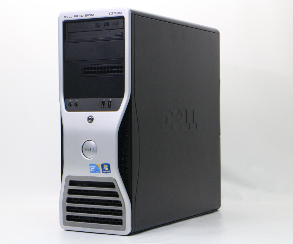 DELL Precision Workstation T3500 Xeon E5640 2.66GHz 4GB 250GB Quadro 600 Windows7 Pro 64bit