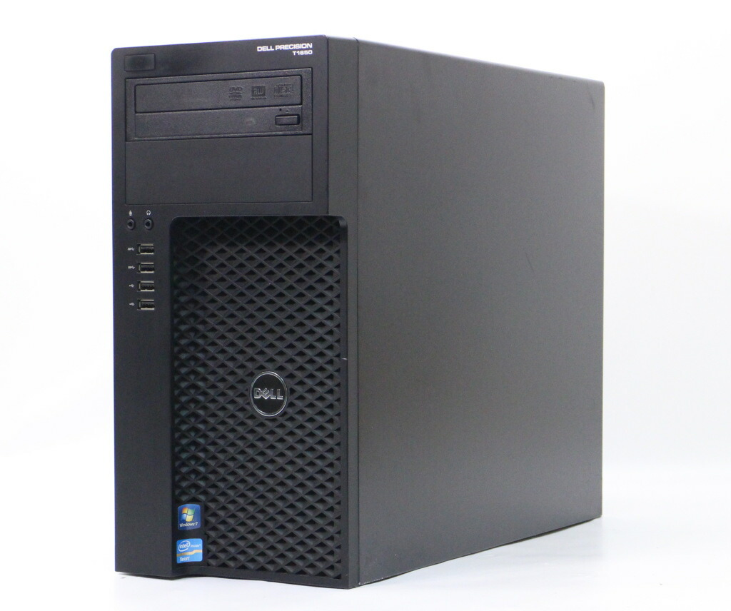 DELL Precision Workstation T1650 Xeon E3-1240 v2 3.4GHz 8GB 1TB Quadro 2000 Windows7 Pro 64bit